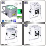 LED Light Indoor Party Light 6PCS 6in1 Stage PAR Light