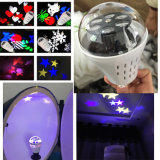 Roation RGB LED Holiday Light with Butterfly Pattern