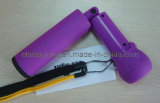 Purple Emergency Torch Spinning LED Flashlight (EO002)