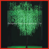 Bright Green LED Willow Tree Light for Street Garden Park Decoration