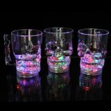 Liquid Active Flashing LED Skull Cup for Party or Celebration