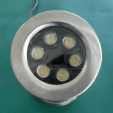 Quality 6W RGB LED Underwater Light with Synchronous Control
