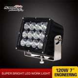 7.4'' 120W IP67 Waterproof LED Spot Flood Work Light