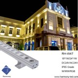 High Waterproof RGB 18W Outdoor LED Decorative Light