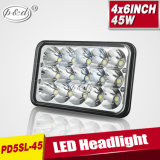45W Car Replacement Rectangle LED Sealed Beam Headlamp (PD5SL)