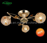 2012 China Popular Iron Chandelier with Crystal in French Gold