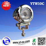 DC10-30V Waterproof IP68 10W CREE LED Fog Light for Fire Engine Pure Aluminium Housing Flood Beam and Spot Beam