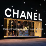 LED Direction Light Box with Shop Front Name LED Channel Letters