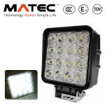 Tractor Jeep Truck Boat 4WD 12V 24V Square 48W LED Work Light