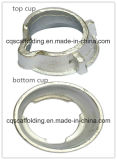 Steel Hot DIP Galvanized/ Painted Cuplock Scaffolding Coupler Top Cup and Bottom Cup with Top Quality