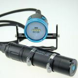 Hoozhu Hv33 Four Color Light Canister Underwater Video Flashlight Max 4000lm Underwater 100m LED Flashlight LED Light Max 4000lm Underwater 100m LED Light