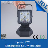 Magnet Base 15W Project LED Rechargeable Repair Work Light