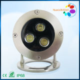 3W IP68 Waterproof LED Underwater Light (HX-HUW96-3W-A)
