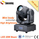 IR Controller 20W Beam LED Mini Small Moving Head Lights