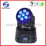 4in1 RGBW Small LED Moving Head Light