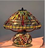 Dragonfly Table Lamp Tiffany Antique Style Glass Table Lamp Fancy Lamps Ahde Wholesale in China