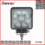 IP67 Waterproof 4 Inch 27W LED Work Light for Auto