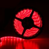 SMD 5050 Waterproof Flexible Red LED Flash Strip Light