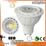 COB LED Light Bulb Dimmable GU10 7W LED Spotlight