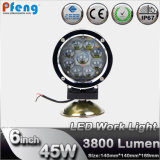 Car Lighting System 6 Inch 45W CREE LED Work Light