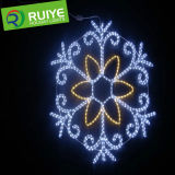 LED Christmas Outdoor Decoration Snowflake Motif Light