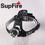 Strong Power Aluminium CREE-T6 LED Rechargeable LED Headlamp