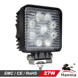 LED Work Light 27W for Construction Machinery (HML-0727)