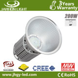 Energy Saving 200W Cool White CREE Meanwell High Bay LED Warehouse Light