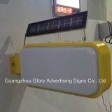 Oudoor Street Advertising Display LED Solar Light Box