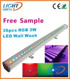 36X3w 3in1 IP65 RGB Outdoor LED Wall Wash Light