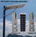 40W Integrated LED Solar Street Light