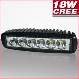 Aluminum Housing 18W CREE LED Car Driving Work Light for Truck and Vehicles