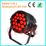 RGBW 18 X 10W Waterproof LED PAR Can
