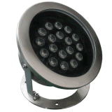 Quality 54W LED Underwater Light with RGB or RGBW