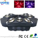 Hot Stage LED Effect 9 *10W Moving Head Beam Lights