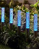 Color-Changing Acryl Bubble Stick Solar Light for Yard Decoration
