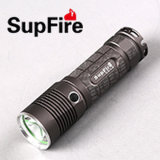 Aluminum Alloy Rechargeable LED Flashlight