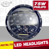 High Power 5690lms New Style High Quality 75W 7inch H4 LED Headlight