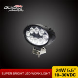 Elliptical 24watt 5.5 Inch LED Work Light