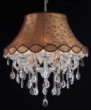Hotel Lampshade Crystal Chandelier (120622-8L)