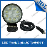 24W Round Magnet LED Driving Work Light 1800lm