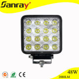 48W LED off Road Light, 10-30V for ATV SUV 4WD 4X4 LED Driving Lamp, LED Work Lights