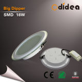 Glass Downlighting Round SMD 18W LED Down Light