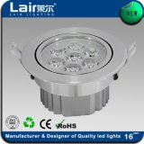 Latest Indoor Aluminum 7W LED Ceiling Light with CE RoHS