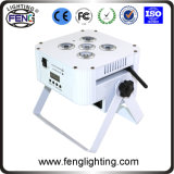 New High Battery Powered6*15W 5in1 LED PAR /LED Flat Light/5 PCS LED 6in1 PAR UV PAR Stage