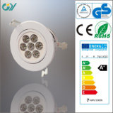 SMD2835 3/5/7/9W LED Downlight Ceiling Light with CE/RoHS