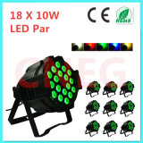 Non-Waterproof 18*10W RGBW 4 in 1 LED PAR Stage Lighting