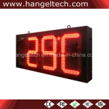 16 Inches Outdoor Electronic LED Time Temp Clock Display
