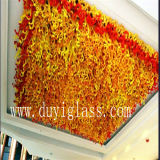 Golden Blown Glass Craft Chandelier for Ceiling Decoration