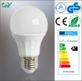 6000k A60 9W E27 LED Light Bulb with CE RoHS